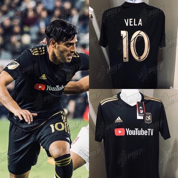 new arrivals 98960 58f8e 🔥 Carlos Vela #10 Los Angeles LAFC Soccer Jersey NWT